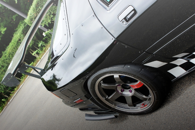 REAR WIDE FENDER ARCH