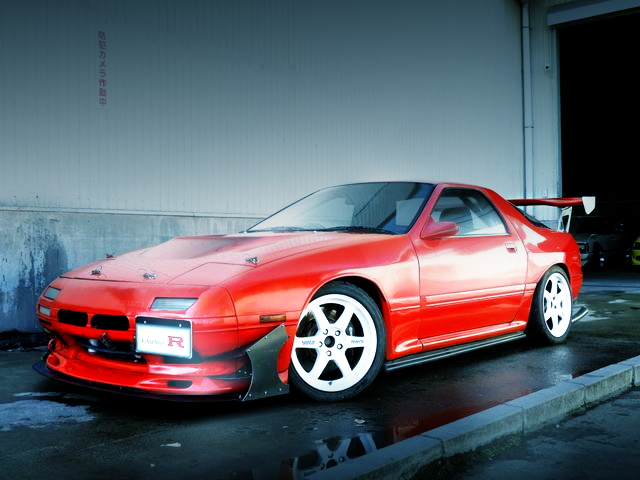 FRONT SAVANNA RX-7 RED FC3S