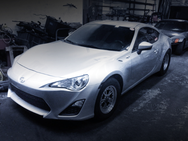 FRONT EXTERIOR FROM ZN6 SCION FR-S