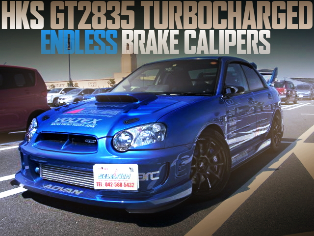 GT2835 TURBIO ENDLESS BRAKE GDB WRX STI