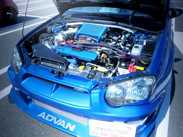 EJ207 BOCER ENGINE
