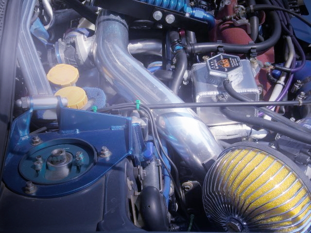 EJ207 BOXER ENGINE WITH PIPING