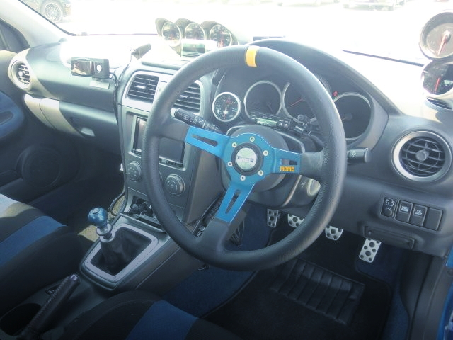 INTERIOR DASHBOARD GDB WRX STI