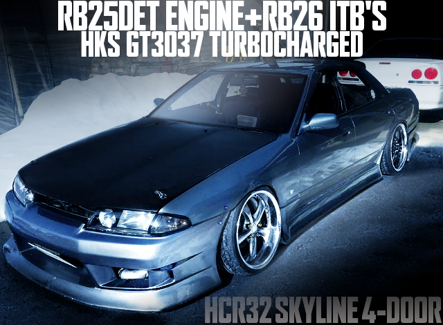 RB25DET RB26 ITB R32 SKYLINE 4-DOOR