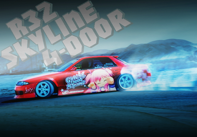 ITASHA DRIFT CAR R32 SKYLINE 4-DOOR
