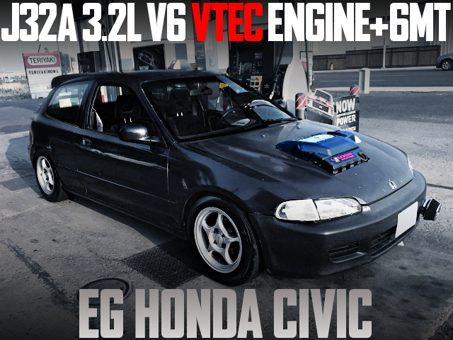 J32A 3200cc V6 VTEC ENGINE EG CIVIC HATCH