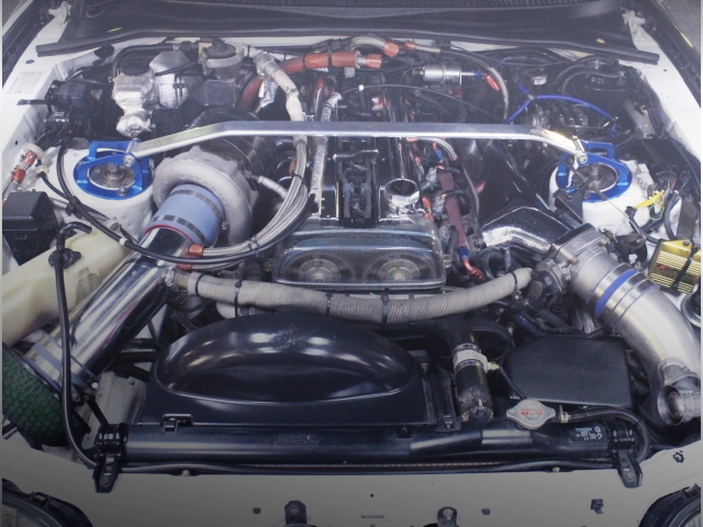 2JZ-GTE SINGLETURBO ENGINE