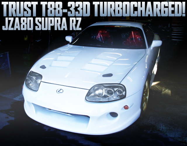 TRUST T88-33D SINGLE TURBO JZA80 SUPRA RZ
