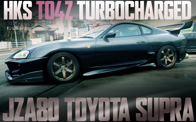TO4Z TURBOCHARGED JZA80 SUPRA