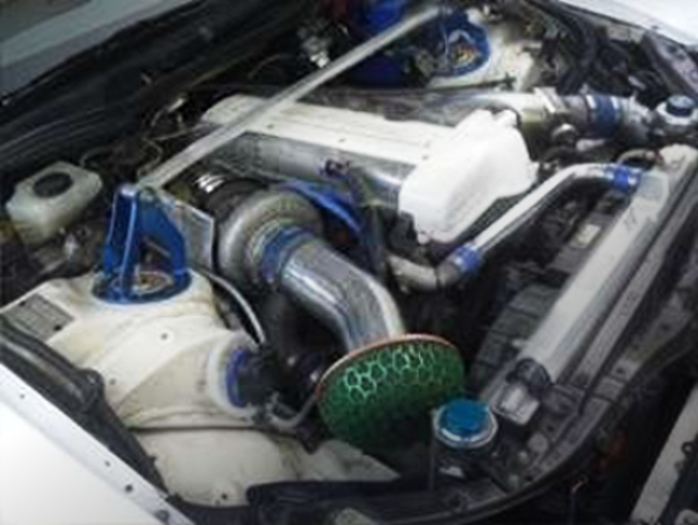 2JZ-GTE SINGLE TURBO ENGINE