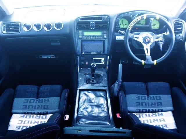INTERIOR T-AND-E DEMO CAR JZS161 ARISTO