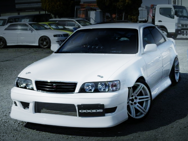 FRONTE FACE JZX100 CHASER WHITE