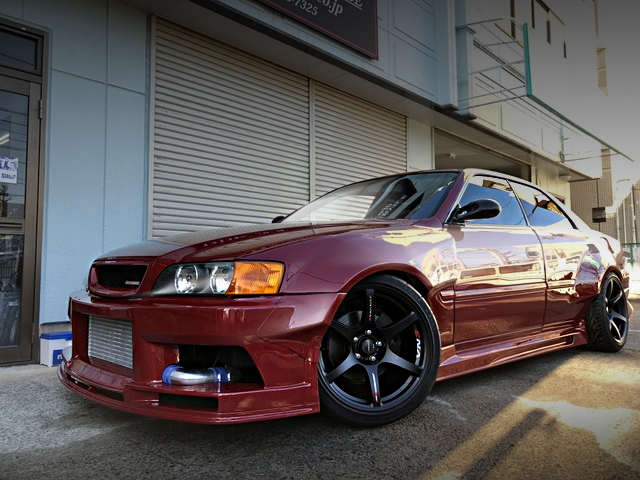 FRONT SIDE EXTERIOR JZX100 CHASER