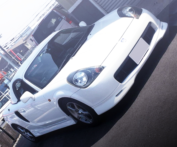 FRONT FACE TOYOTA MR-S WHITE