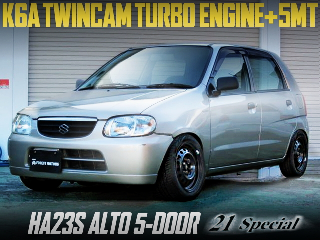 K6A TURBO SWAP HA23S ALTO 5-DOOR 21 SPECIAL