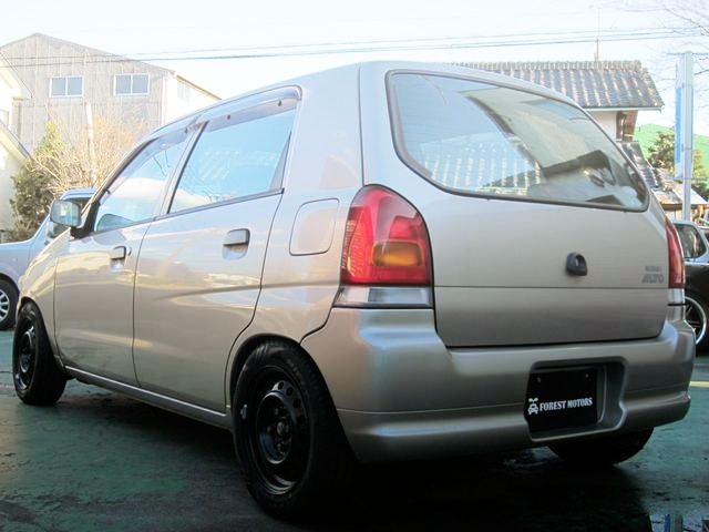 REAR EXTERIOR HA23S ALTO 5-DOOR 21 SPECIAL