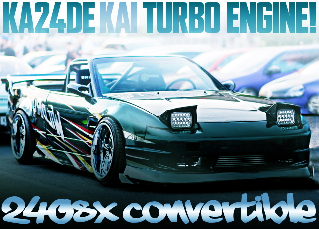 KA24DE-T TURBOCHARGED S13 240SX CONVERTIBLE