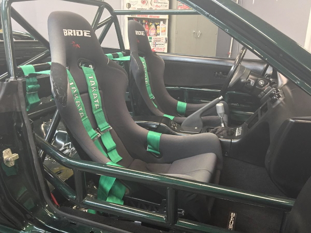 ROLLBAR AND BRIDE SEAT
