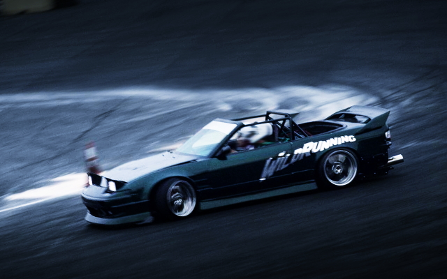 DRIFTING FROM S13 240SX CONVERTIBLE