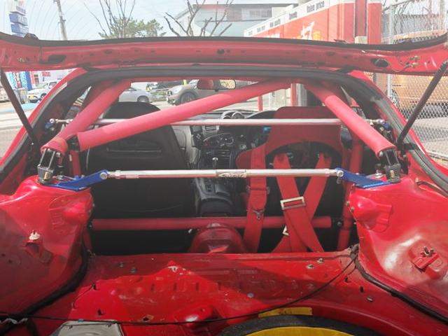 ROLLBAR FROM FD3X RX-7 INTERIOR