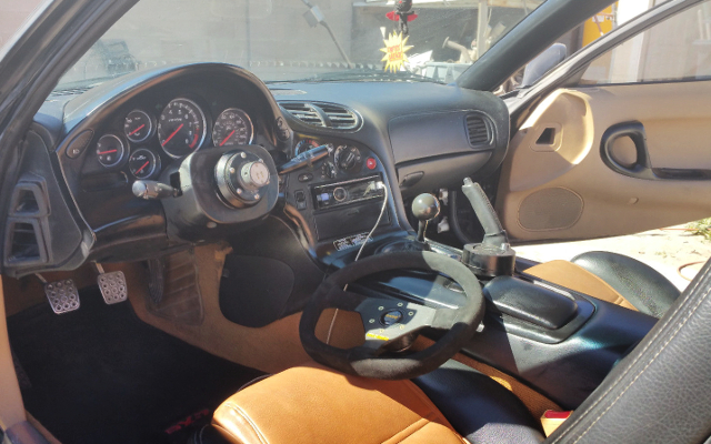 INTERIOR LEFT HAND DRIVE US-MODEL FD3S RX-7