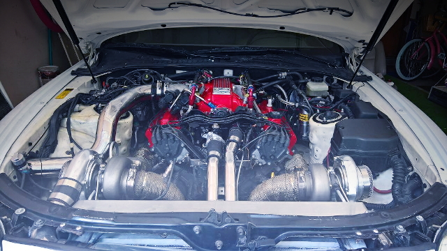 1UZ V8 TWINTURBO ENGINE