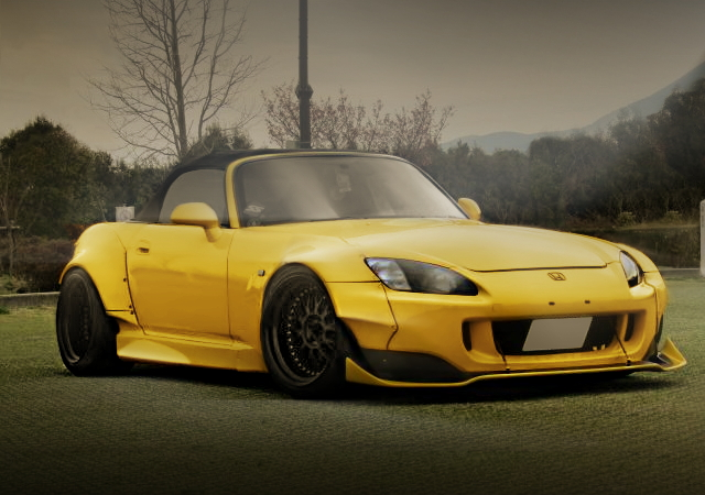 FRONT EXTERIOR S2000 YELLOW