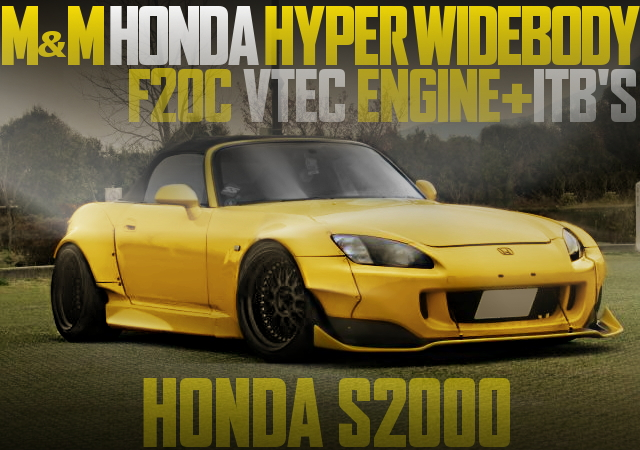 M AND M HYPER WIDEBODY S2000
