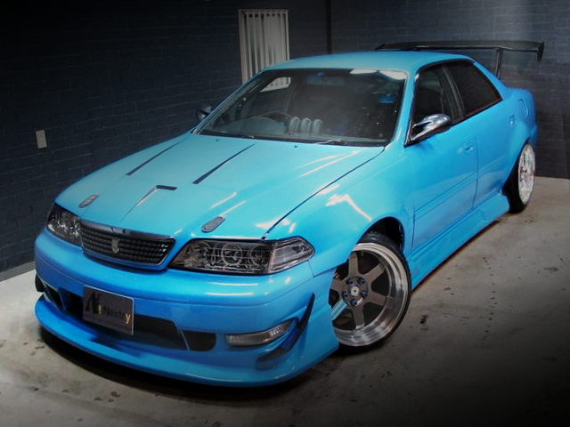 MARK2 FACE CONVERSION TO JZX100 CHASER