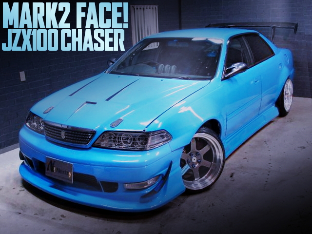 MARK2 FACE CHASER LIGHT BLUE