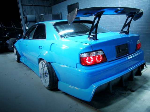 REAR GT-WING FOR JZX100 CHASER LIGHT BLUE