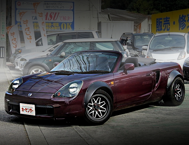 FRONT EXTERIOR TOYOTA MR-S MAROON