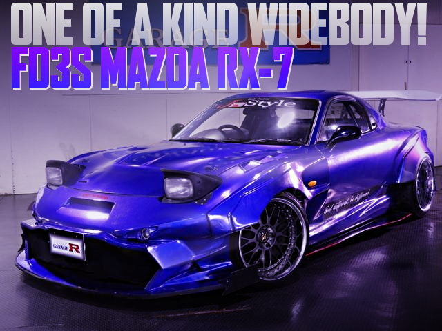 ONE OF A KIND WIDEBODY FD3S RX-7
