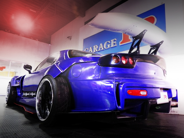 REAR EXTERIOR FD3S RX-7 ONE OF A KIND WIDEBODY