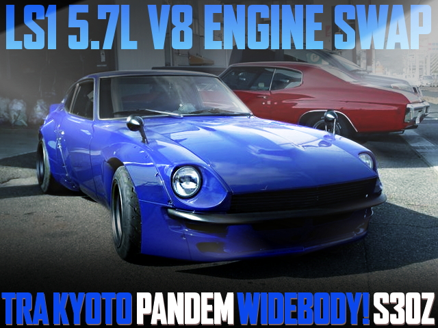LS1 V8 ENGINE PANDEM WIDEBODY S30Z