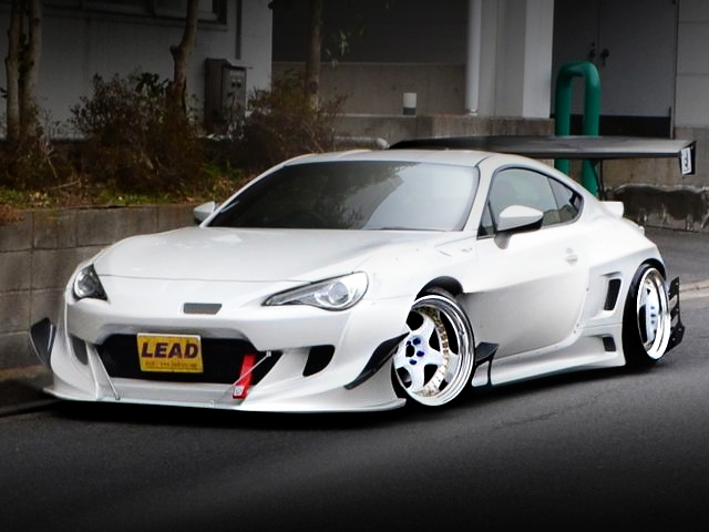 FRONT FACE TOYOTA86 GT