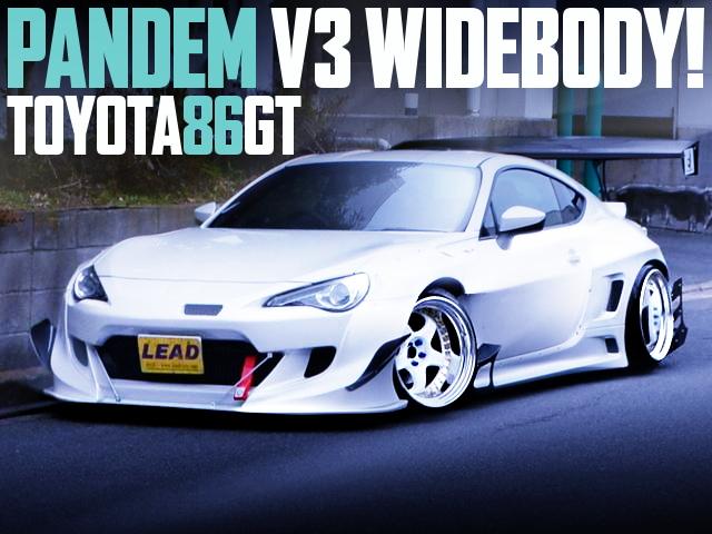PANDEM V3 TOYOTA 86GT