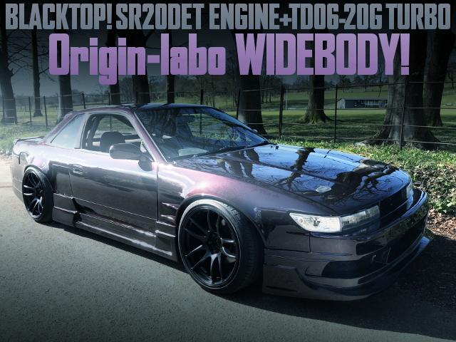 ORIGIN-LABO WIDEBODY S13 SILVIA