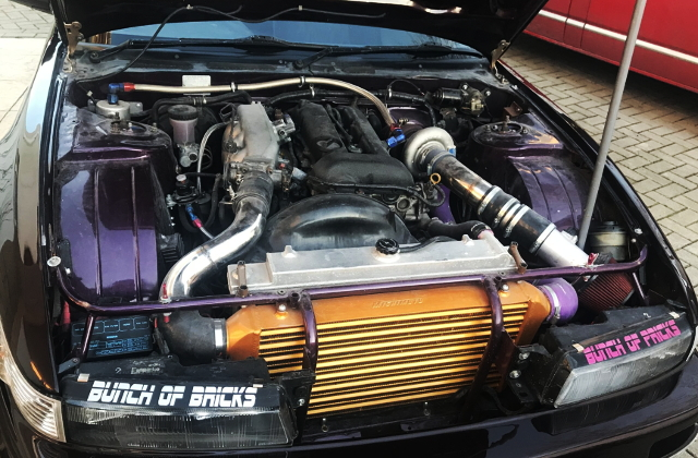 SR20DET BLACK TOP ENGINE FOR S13 SILVIA
