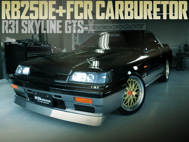 FCR CARBURETOR RB25 R31 SKYLINE GTSX