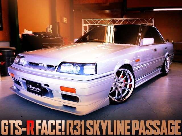 GTS-R FACE R31 SKYLINE 4-DOOR PASSAGE