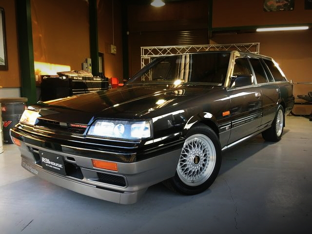 FRONT FACE R31 SKYLINE WAGON