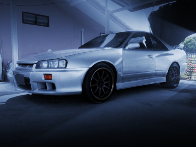 FRONT SIDE EXTERIOR R34 REPLICA