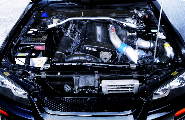 RB26 TWINT TURBO ENGINE