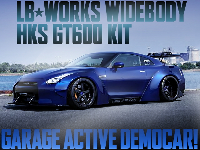 LB-WORKS GT600KIT ACTIVE DEMOCAR R35GTR