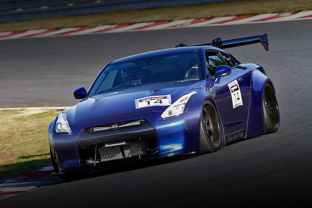 CIRCUIT ATTACK R35 GT-R LB-WORKS