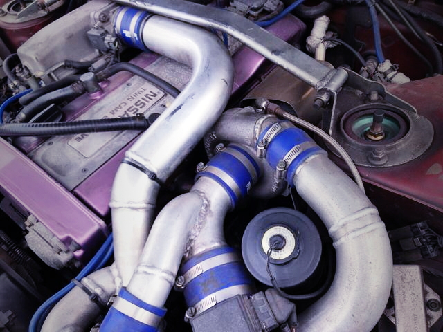 RB25DET FROM TURBOCHARGER
