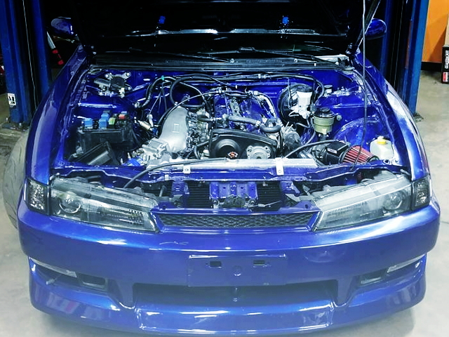 RB25DET ENGINE SWAP BLUE