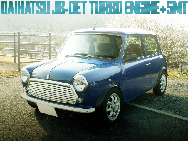 JB-DET TURBO ENGINE ROVER MINI