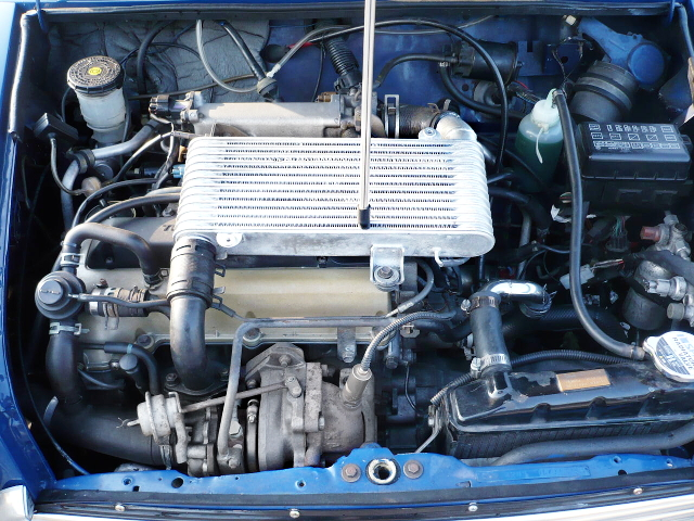 DAIHATSU JB-DET TURBO ENGINE